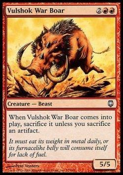 画像1: 『英語版』ヴァルショクの戦猪/Vulshok War Boar
