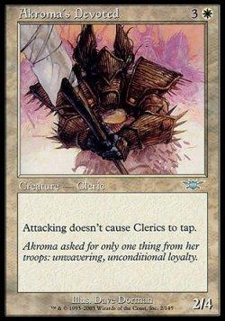 画像1: 『英語版』アクローマに仕える者/Akroma's Devoted