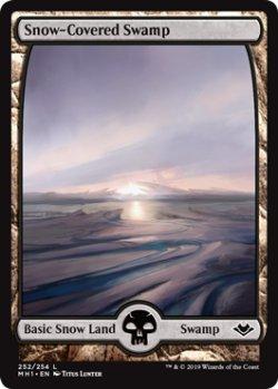 画像1: 『ENG』冠雪の沼/Snow-Covered Swamp