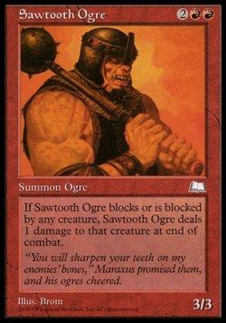 画像1: 【英語版】鋸歯のオーガ/Sawtooth Ogre